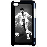 Fashionable Vintage Famous Soccer Cristiano Ronaldo Phone Case Cover for Ipod Touch 4th Generation CR7 Real Madrid (Ipod 4 Cases Cr7)
