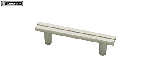 - Liberty Hardware Urban Metals 2-1/2 Inch (64mm) Pull, Matte Nickel - P03123-MN-C