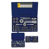 Irwin Industrial Tools 97606 Fractional Tap and Hex Die Set, 66-Piece by Irwin Tools