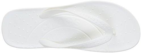 Blanc femme Tongs Hawaii White Crocs gOqvFwvp