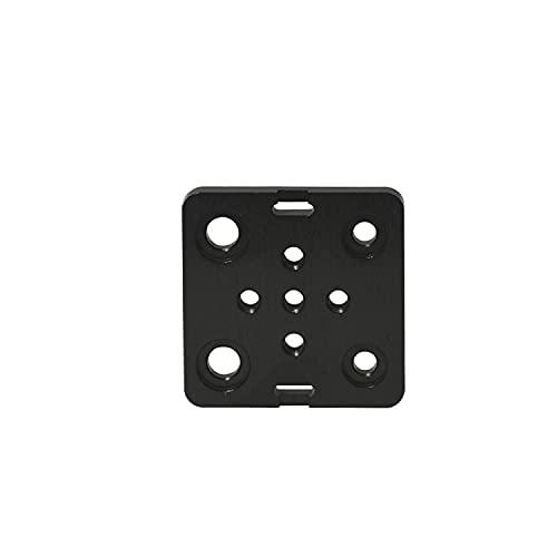 Lysee 3D Printer Parts & Accessories - 3D Printer Part Special Slide Plate for Aluminum Profiles Mini Five Roulette V Gantry Plat