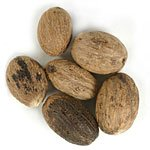 Frontier Bulk Nutmeg whole, ORGANIC, 1 lb. package