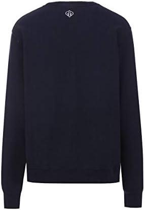 Golden Goose Luxury Fashion Herren G34MP528G1 Blau Baumwolle Sweatshirt | Jahreszeit Outlet