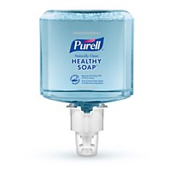 Purell(R) Professional CRT Healthy SOAP(TM) Naturally Clean Fragrance-Free Foam Hand Soap Refill, ES4, 40.58 Oz