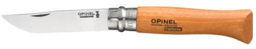 Opinel Traditional No 9 Carbon Steel Knife, Outdoor Stuffs