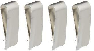 Sammons Preston Clip Shoehorn, 3.5'', Steel, Clip & Slide Design Allows User to Insert Foot (4-(Pack))