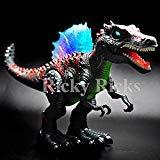 Walking Dinosaur Spinosaurus Kids Light Up Toy Figure Sounds Real Movement LED