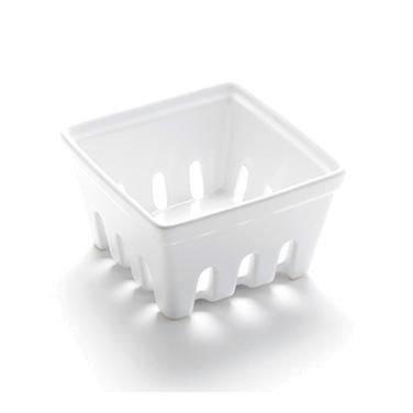 American Metalcraft BBSKT2 Ceramic Berry Basket, Medium