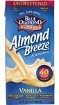 Blue Diamond Vanilla, Unsweetened, 32-Ounce (Pack of 12) ( Value Bulk Multi-pack)
