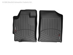 Liner Row Floor (WeatherTech Custom Fit Front-Row FloorLiner for Nissan Altima (Black))