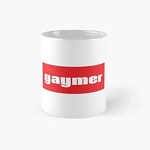 Gaymer Words Gamer Use Gay Classic Mug