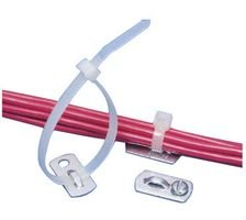 Cable Tie Mount, Screw, 5.1 mm, Natural, Aluminium, 25.4 mm, 12.7 mm by Panduit