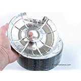 Durable Packaging Small Electric Disposable Foil Burner Bib #6200S (100) ()