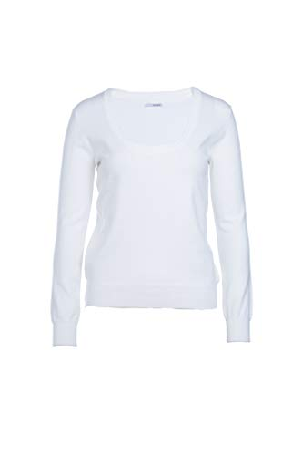 BASIC Coton Blanc Pull MY Femme en Stretch Twdqxz