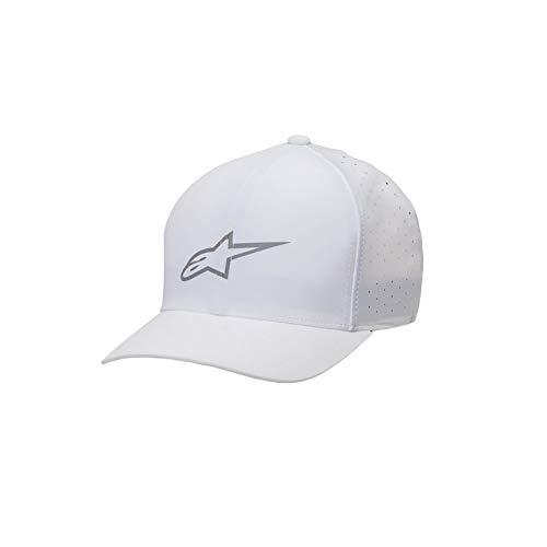 m S De Blanc Homme Alpinestars Baseball Casquette Y4qTxw