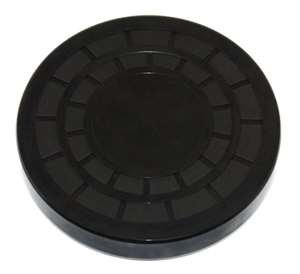 EC42x7 Nitrile Rubber End Cap Plugs Seal 42mm Outside Diameter 7mm Width