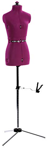 Dritz 20075 My My Double Dressform with Tri-Pod Stand Adjustable Up to 63
