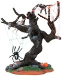 Lemax Spooky Tree with Spiders #83673