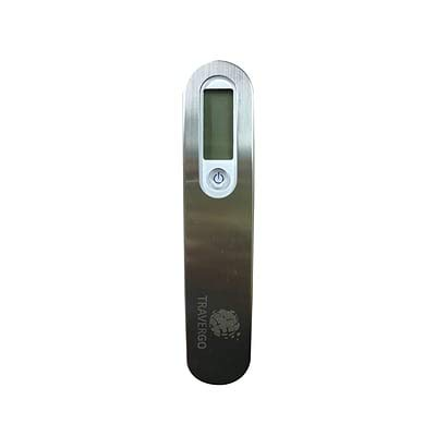 Travergo Digital Scale with Buckle Clasp, Silver TR1340SV (10 Units)