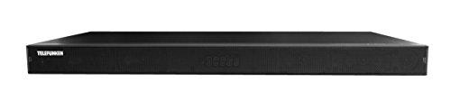 Telefunken SA100BR1 TV-Soundbar (Bluetooth 4.0, integrierter Subwoofer, 4x Audio-In: 2x Analog/Digital, 4 EQ-Optionen) schwarz