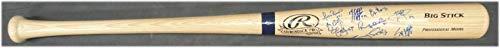 Wood Hand Signed Mlb Baseball - Dodgers Hand Signed Autograph Baseball Bat Alex Wood Don Newcombe Kenly Jansen - Autographed MLB Bats