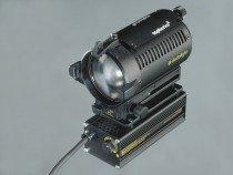Dedolight 150 watt focusing light head with dimmable power supply 120v