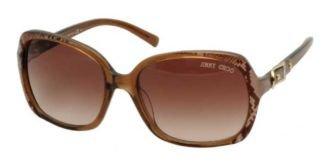 Jimmy Choo Sunglasses - Lela/S / Frame: Gold Snake Brown Lens: Brown ()
