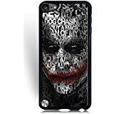 (Ipod Touch 5th Generation) Phone Case for Girls Women , Cute Design Ipod Touch 5th Generation Case The Dark Knight DC Comics Printed Solid Advanced