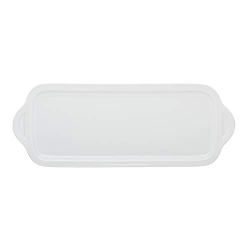 Degrenne 227838 Collection L Rectangular Cake Dish 35 x 15 cm White -