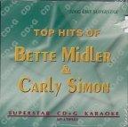 Carly Simon & Bette Midler Greatest Hits Karaoke CD+G Superstar Sound Tracks