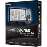 Corel DESIGNER Technical Suite X4 - 1 User