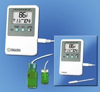 CONTROL 4127 Thermometer Refrigerator/Freezer Digital 1 EACH. by Control Company