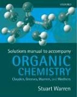 solutions manual to accompany organic chemistry stuart warren