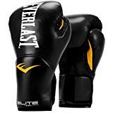(Everlast Elite Pro Style Training Gloves, Black, 16)