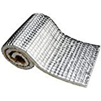 200 MIL Car Auto Vehical Vehical Automotive Firewall Sound Deadener Heat Insulation Deadening Mat Noise Proofing Proof Shield Barrier (360x40)