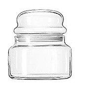 libbey glass spice jars - 2