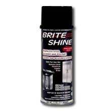 Brite Shine Aerosol Clean & Polish, 12 Case -- 11 Ounce by Discovery