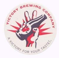 - Victory Brewing Company - Paperboard Coasters - Sleeve of 85