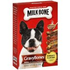 Milk Gravy Bones Dog Biscuits 19 OZ (Pack of 24) by Milk-Bone