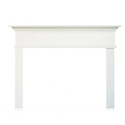 Kensington MDF Primed Fireplace Mantel Surround Shelf Length: 42
