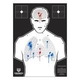 Threat Down Humanoid Silhouette | Reactive Target | Shooting