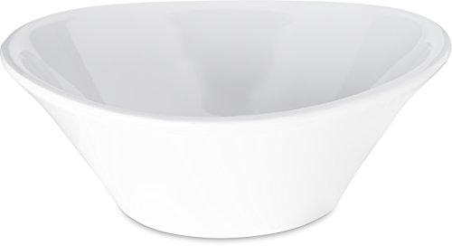 Carlisle 5300702 Stadia Coupe Melamine Salad/Pasta Bowl, 32 oz, White