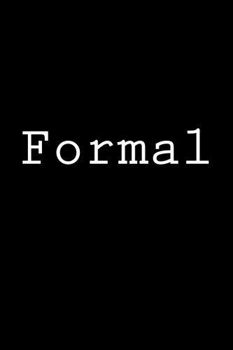 Formal: Notebook, 150 lined pages, softcover, 6 x 9 por Wild Pages Press
