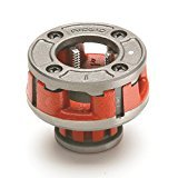 RIDGID 36900 Model OO-R Die Head, 12R Alloy Die Head comes with 1-inch High-Speed, Factory Set Dies that Deliver Clean, Precise 11-1/2 TPI (Head Die 3/4)