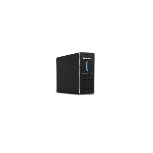 Hamlet HXDAS25 - Dispositivo de almacenamiento en red con interfaz USB 3.0