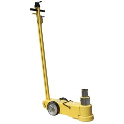 Esco Equipment ESC10770 Jackit 50 Ton 2 Stage Air-Hydraulic Jack - Yellow by Esco Equipment