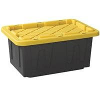 HOME PRODUCTS INTL-NORTH AMERICA 4415BKYL.06 15 gallon Black Tough Tote
