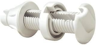 NEW SEACHOICE CABLE THRU-HULL FITTING-WHITE SCP 17921