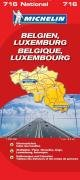 MICHELIN Nationalkarte Belgien (MICHELIN Nationalkarten, Band 716) Landkarte – 14. Januar 2008 2067130609 Europa Karten / Stadtpläne / Europa Atlas