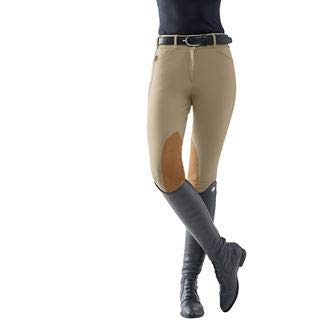 Tailored Sportsman The TS Trophy Hunter Mid-Rise Front-Zip Breech, Size 26, Charcoal ()